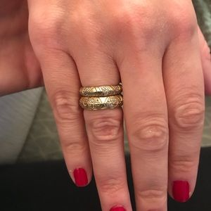 House of Harlow Stackable Rings